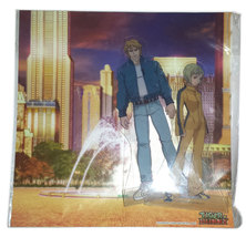 "Tiger & Bunny ""Sky High & Dragon Kid"" Diorama with Plastic Cutouts * Anime - $9.88"