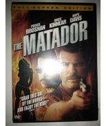 The Matador (DVD, 2006, Full Frame Version) New Sealed - $1.95