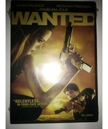 Wanted (DVD, 2008, Full Frame) New Sealed - $1.95