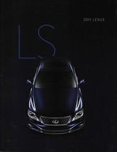 2011 Lexus LS 460 460L 600hL brochure catalog 11 US HYBRID Sport - $9.00