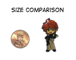 Red-Haired Toughy Enamel Pin * ANIME - $4.88