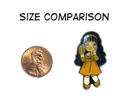 Wowed Girl Enamel Pin * ANIME - $4.88