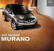 2011 Nissan MURANO sales brochure catalog US 11 S SL LE - $9.00