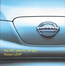 2011 Nissan LEAF ELECTRIC car sales brochure catalog folder US 11 - $9.00