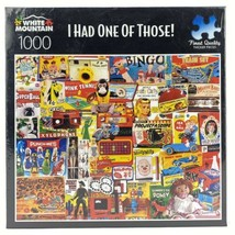 """New Charlie Girard White Mountain Jigsaw Puzzle 1000 """"I Had One Of Those"""" - $32.41"""