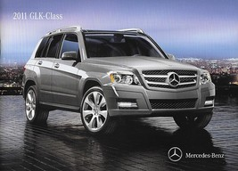 2011 Mercedes-Benz GLK-CLASS sales brochure catalog US 11 350 - $8.00