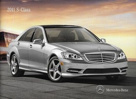 2011 Mercedes-Benz S-CLASS brochure catalog US 400 HYBRID 550 600 S63 S6... - $12.00
