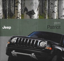2011 Jeep PATRIOT brochure catalog US 11 Sport Latitude X - $6.00