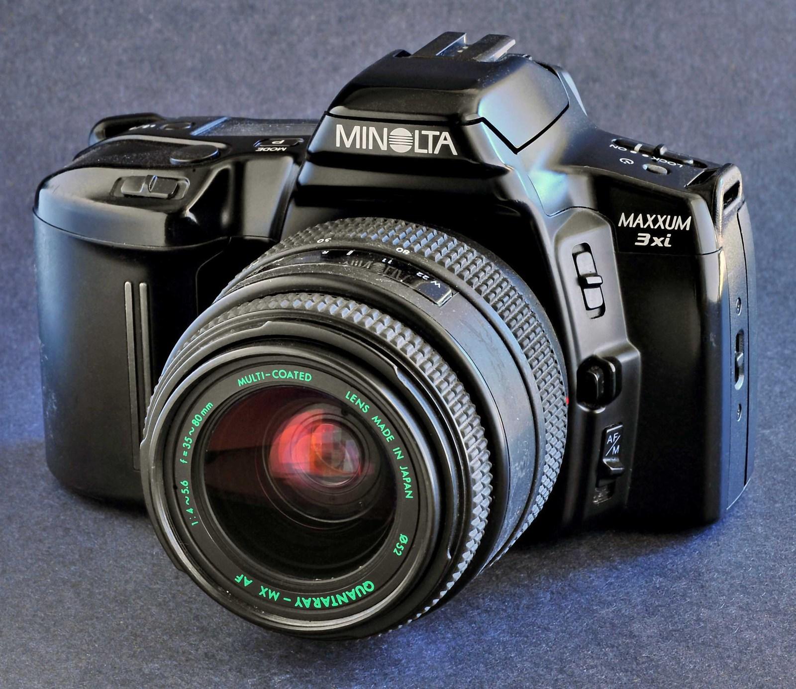minolta maxxum 3xi 35mm slr af 35 80 f4 5 6 and 21 similar items rh bonanza com Minolta AF 7000 minolta maxxum 3xi owners manual