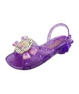 Disney Tangled Rapunzel Light Up Princess Shoes Girls Size 2/3 - $29.39
