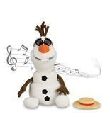 Disney - Olaf Singing Plush - Frozen - Medium - 10 1/2'' - New in Box - $48.56 CAD