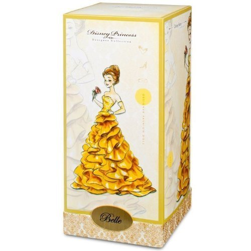 """Disney Exclusive 11 1/2"""" Designer Collection Doll Belle Beauty and the Beast"""