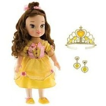 Disney Princess Little Belle Toddler Doll with Tiara/ Earrings - $25.47