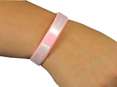 Philadelphia Eagles Pink Fan Band Wristband