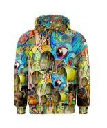 Mushrom Drug Hippie Trippy Psychedelic Full 3D ... - $42.99 - $50.99