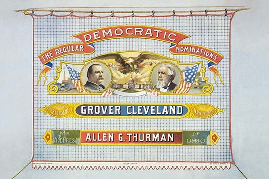 Democratic nominations For President, Grover Cleveland of New York. For Vice Pre - $19.99 - $179.99