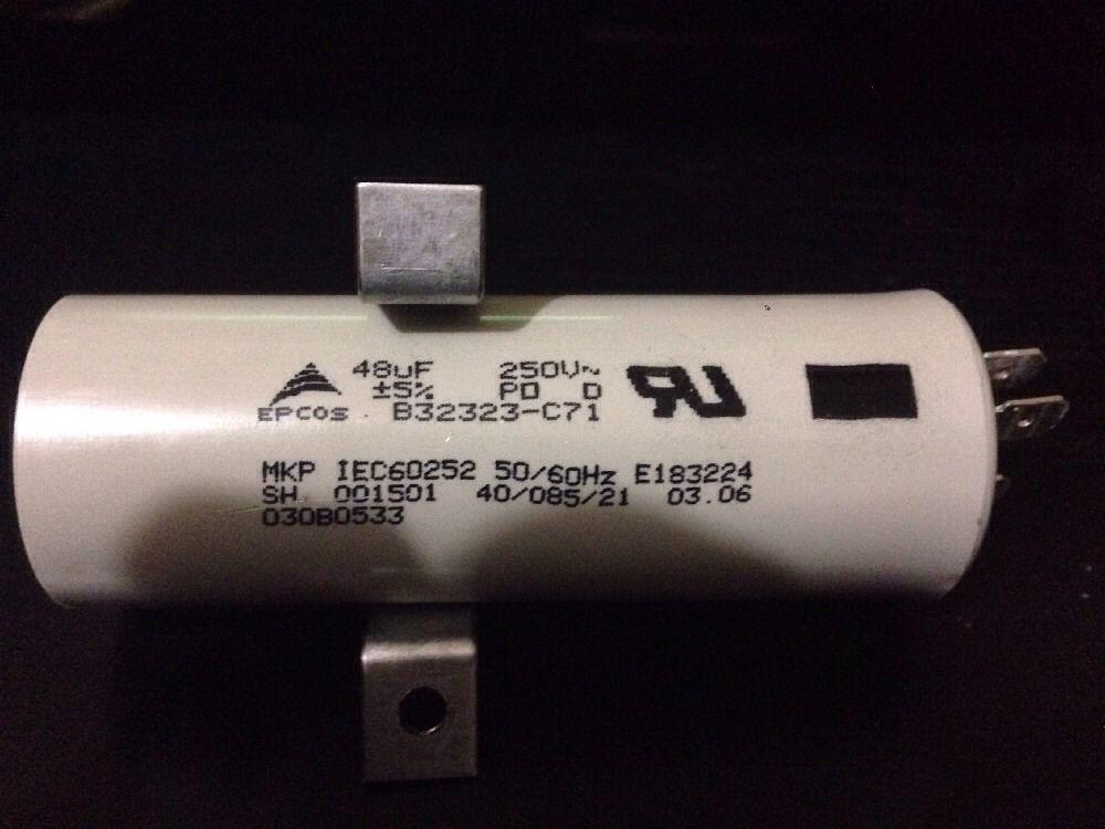 Epcos 250vac 48uf Ac Motor Run Film Capacitor B32323