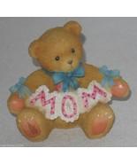 Cherished Teddies Worlds Greatest Mom Mini Figurine Gift Box Stocking #476773 - $16.78