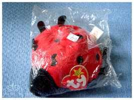 TY Beanie Ladybug - $3.00