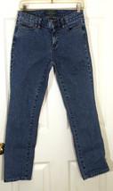Lauren Ralph Jeans Co. LRL Classic Straight Blue Denim Womens Petite 2 P... - $15.35