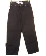 OLD NAVY NWT BOYS NAVY PAINTERS PANTS 12 LOOSE THIGH STRAIGHT LEG COTTON - $9.89