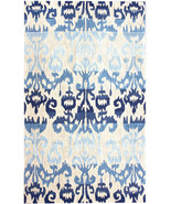 Anthropologie Faded Ikat Ombre Rug, Gorgeous Bl... - $246.51