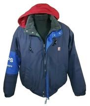 Vintage Ralph Lauren Jacket Chaps Medium Coat Polo Sport Bear Stadium RLX 90s - $59.99