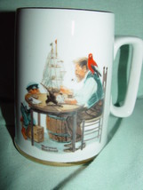 1985 Norman Rockwell  Museum Inc For A Good Boy Coffee Cup / Mug - $5.00