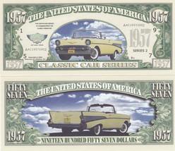 10 Chevy 1957 Classic Chevrolet Novelty Money B... - $3.95