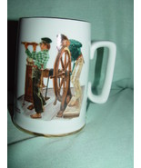 1985  The Norman Rockwell Museum,Inc River Pilot Coffee Cup - $10.00