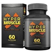 WOW Hyper Muscle X (Pack of 1), 60 capsules Unflavoured - $69.95