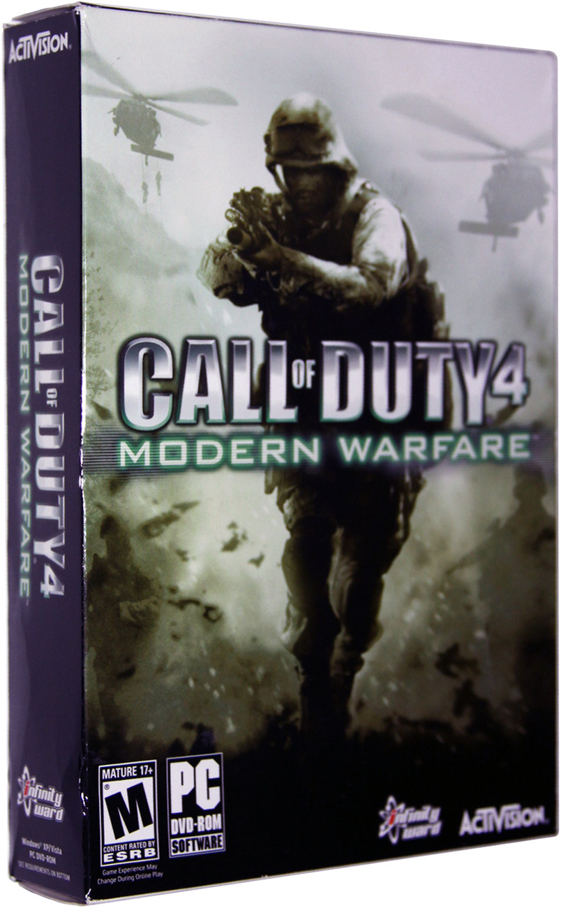 Primary image for Call of Duty 4: Modern Warfare [PC Game]
