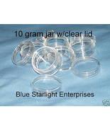 25 - 10 gram jar sample pot seed bead paint cra... - $12.50