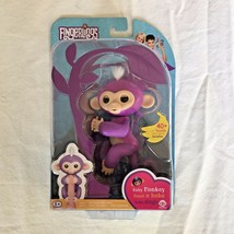 Fingerlings Interactive Toy MIA Purple Baby Monkey WowWee - NEW - $24.74