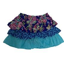The Children's Place Multicolor Ruffle Skirt w/ short Girl's 14 (I-1E) - $13.86