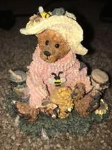 Boyd Bearstone Resin Bears Bailey Honey Bear Figurine #2260 —332 - $47.40