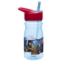 STAR WARS DARTH VADER-WATER BOTTLE WITH STRAW. MEDIUM SIZE - $7.61