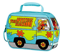 Scooby-Doo Mystery Machine lunchbox. comes with a PINK FOOD JAR! - $21.19