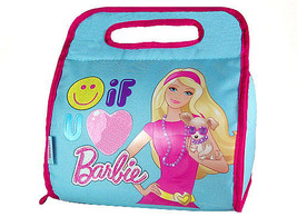 BARBIE INSULATED LUNCHBOX-BY THERMOS CO. includes a pink food jar! - $13.95
