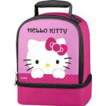 HELLO KITTY LUNCHBOX/COOLER-INCLUDES A SANDWICH BOX. - $12.12