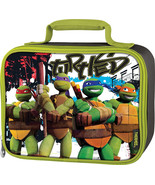 NINJA TURTLES LUNCHBOX BY THERMOS CO. includes a pink food jar! - $14.95