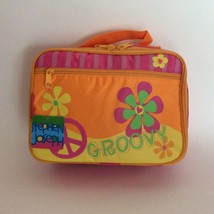 Peace sign soft lunchbox-BPA FREE-by Stephan Joseph Co-Includes a pink f... - $15.99