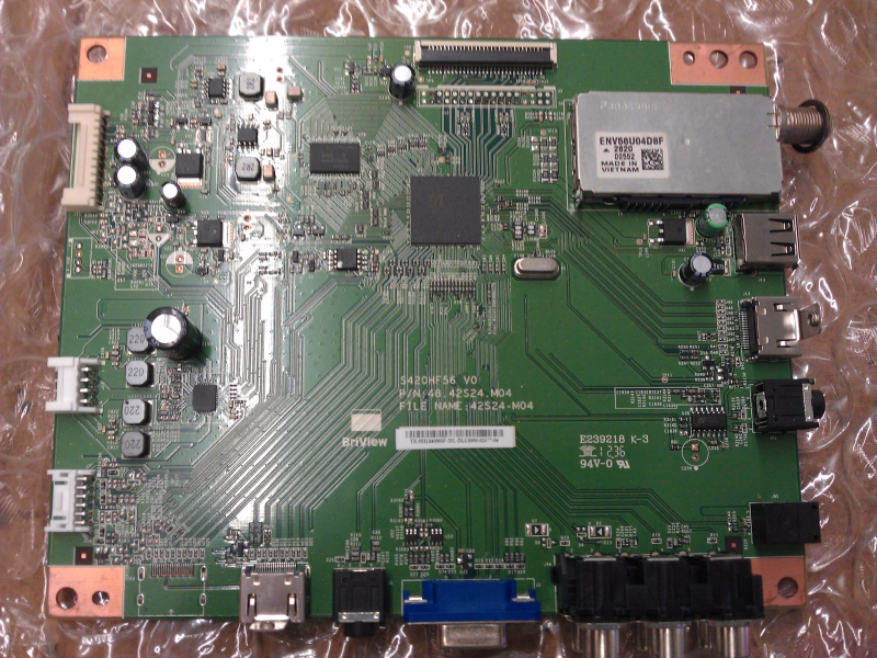 55.31S40.M0F Main Board From Insignia NS-32D120A13 LCD TV
