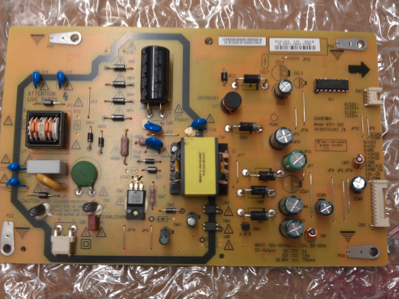 19.31S40.005 ( B157-302 ) Power Supply / LED  Board From Insignia NS-32D120A13 L