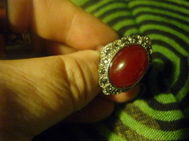 HAUNTED Italian Renaissance Male Sang Vampire   RING 7 SEEKS ONE TRUE KE... - $150.00