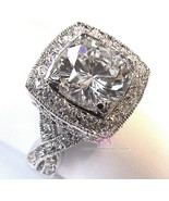 Beauty for Ashes® Design Inspired Premier Masterpiece Clear CZ Prom Glam Ring 6 - $35.00