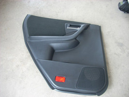 2005 NISSAN MURANO LEFT REAR DOOR TRIM PANEL