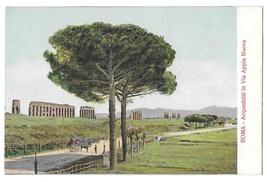 Rome Italy Acquedotti Via Appia Nuova Appian Way Vintage Postcard - $4.99