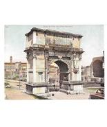 Rome Italy Arco di Tito Arch of Titus Foro Romano Vintage UND Blumlein P... - $5.99