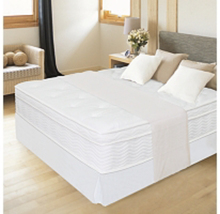 """12"""" Night Therapy Euro Box Top Spring Mattress & Bed Frame Set,Bedroom F... - $439.99"""